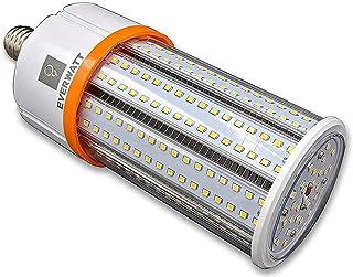 40W (200W Metal Halide Equiv) LED Corn Light Bulb, Standard E26 Base, 5479 LMS, 5000K, IP64 Waterproof, Indoor/Outdoor Area Light, Replaces MH, HID, CFL, HPS