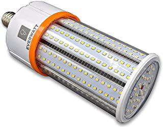 250W Metal Halide Equivalent, 60W LED High-Efficiency Corn Light Bulb, Standard E26 Base, 8115 Lumens, 4000K, IP64 Waterproof Outdoor Indoor Area Lighting, Replacement for Metal Halide HID, CFL, HPS