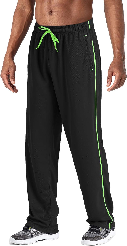 LASIUMIAT Men's Popular overseas Lightweight Sweatpants Pockets with Loose High material Zipper