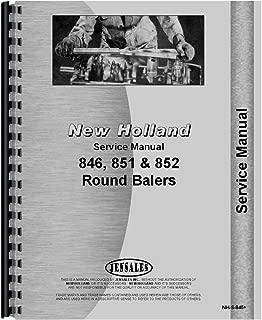 New New Holland 851 Round Baler Service Manual
