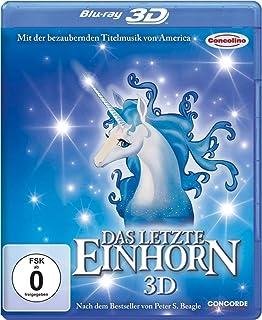 Das letzte Einhorn 3D (Zum 30. Jubiläum inkl. 2D + restaurierter 3D-Version) [Blu-ray 3D] [Alemania] [Blu-ray]