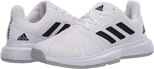 Footwear White/Core Black/Matte Silver