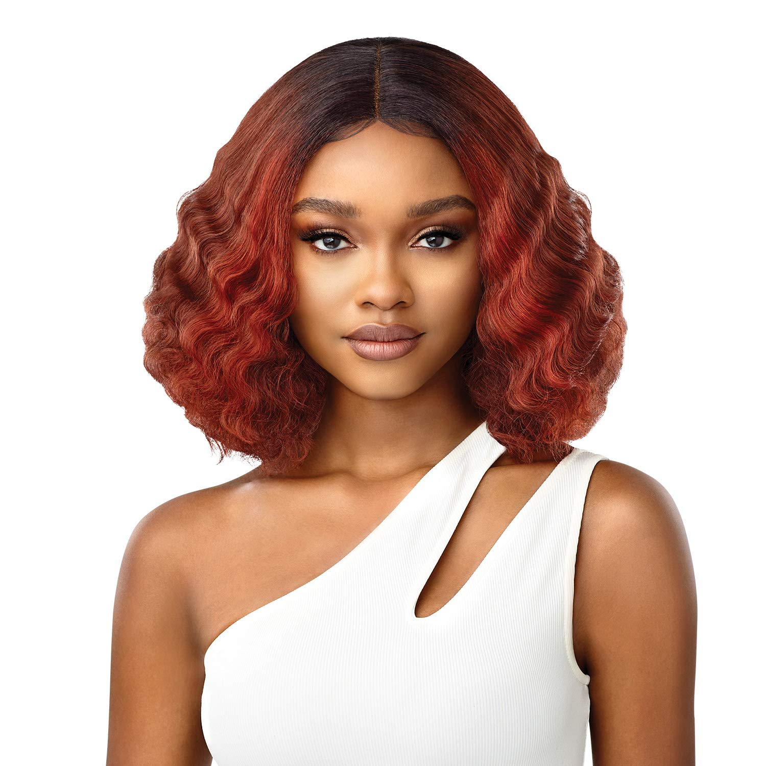 Outre Synthetic Large-scale sale HD Lace Front Wig Black SOLEIL Boston Mall Jet 1 -