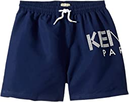 Logo Swim Shorts (Big Kids)