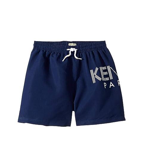 Kenzo Kids Logo Swim Shorts (Big Kids)