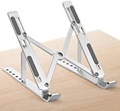 PHOCAR Soporte Aluminio para Laptop, Base Ajustable para