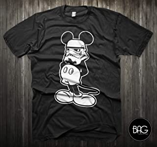 Star Wars Shirt Mickey Mouse Storm Trooper Darth Vader Shirt - Mickey Mouse - Gift For Him or Gift For Her!