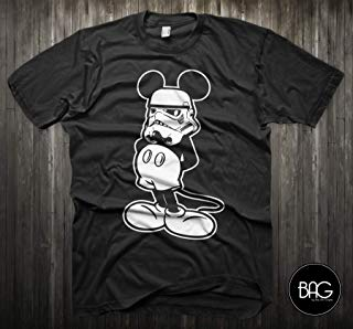 Star Wars Shirt Mickey Mouse Storm Trooper Shirt - Mickey Mouse - Gift For Him or Gift For Her!