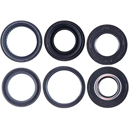 East Lake Axle Rear differential seal kit compatible with Honda TRX//ATC 250R 250SX 1985 1986 1987