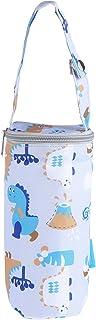 NUOBESTY Bolsa térmica portátil para mamadeira de bebê, bolsa portátil para armazenamento de leite materno com suporte par...