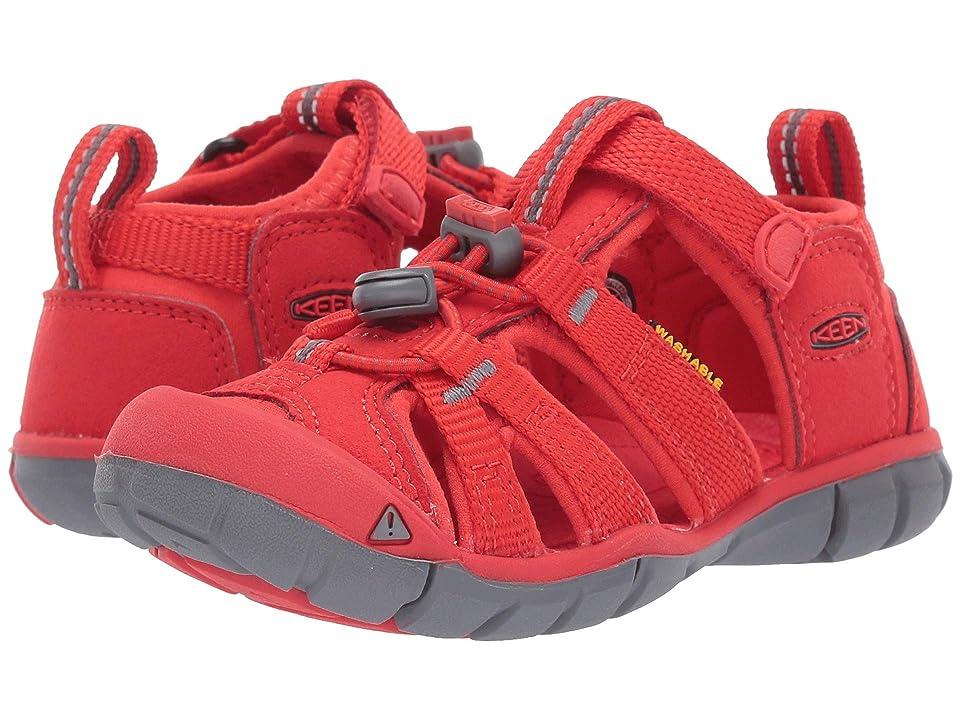 Keen Kids Seacamp II CNX (Toddler/Little Kid) (Fiery Red) Kids Shoes