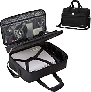 BGTREND Projector Case, Projector Bag Compatible with Most Major Projectors with Accessories Storage Pockets, Black (Bag O...