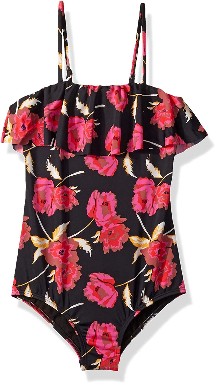 Billabong Arlington Mall Ranking TOP7 Girls' Big Floral Piece Dawn One Swimsuit