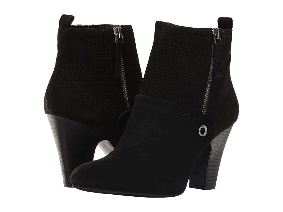 Nine West Gowithit (Black Suede) Women