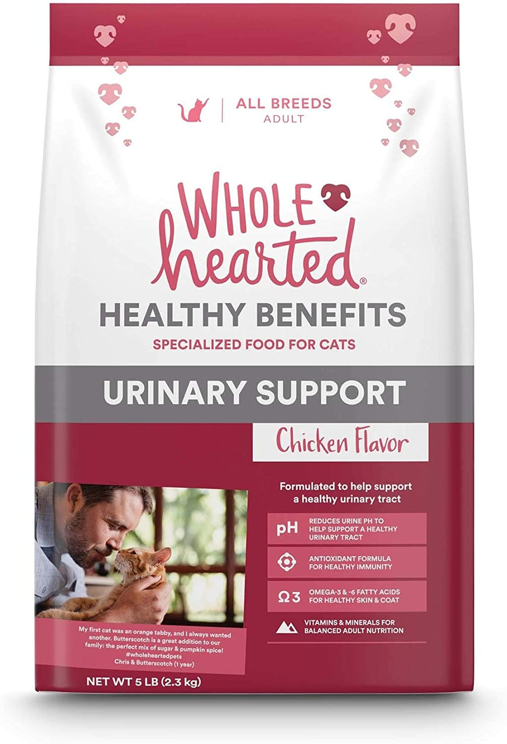 Petco Brand - WholeHearted Urinary Chicken Ca Flavor Dry Portland Mall Support Quantity limited