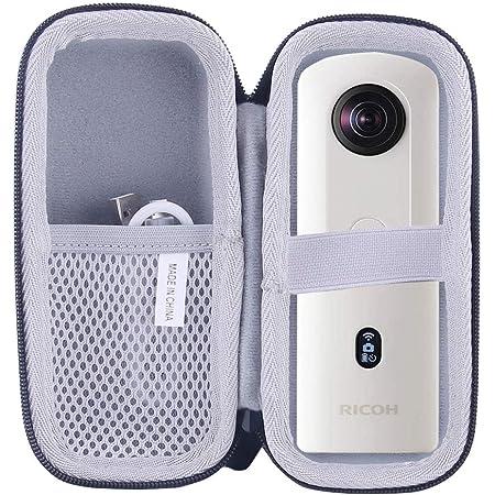 HOLACA con copriobiettivo per fotocamera Ricoh Theta SC2 Custodia in silicone per fotocamera Ricoh Theta SC2