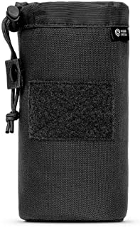 Mission Critical | S.01 Insulated Bottle Holder | Baby Gear for Dads | Designed to Work with Mission Critical Baby Carrier | Black