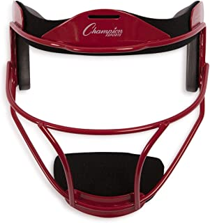Champion Sports Softball Fielder's Face Mask - Available in Multiple Colors and Sizes