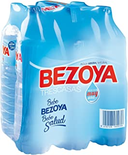 comprar comparacion Bezoya - Agua Mineral Natural - Pack 6 x 1.5 L