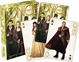 Aquarius Once Upon A Time Green Playing Cards
