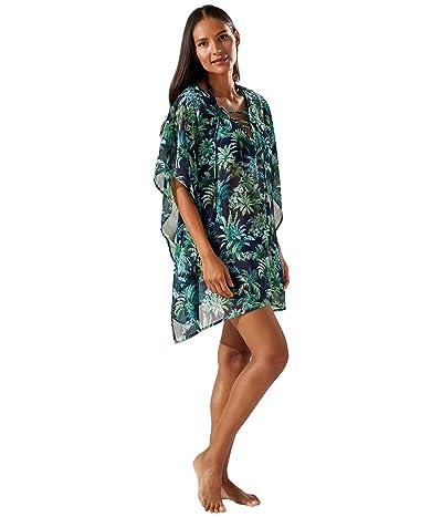 Tommy Bahama Palm Modern Lace-Up Tunic