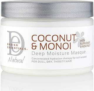 Design Essentials Coconut & Monoi Deep Moisture Masque - 12 Oz