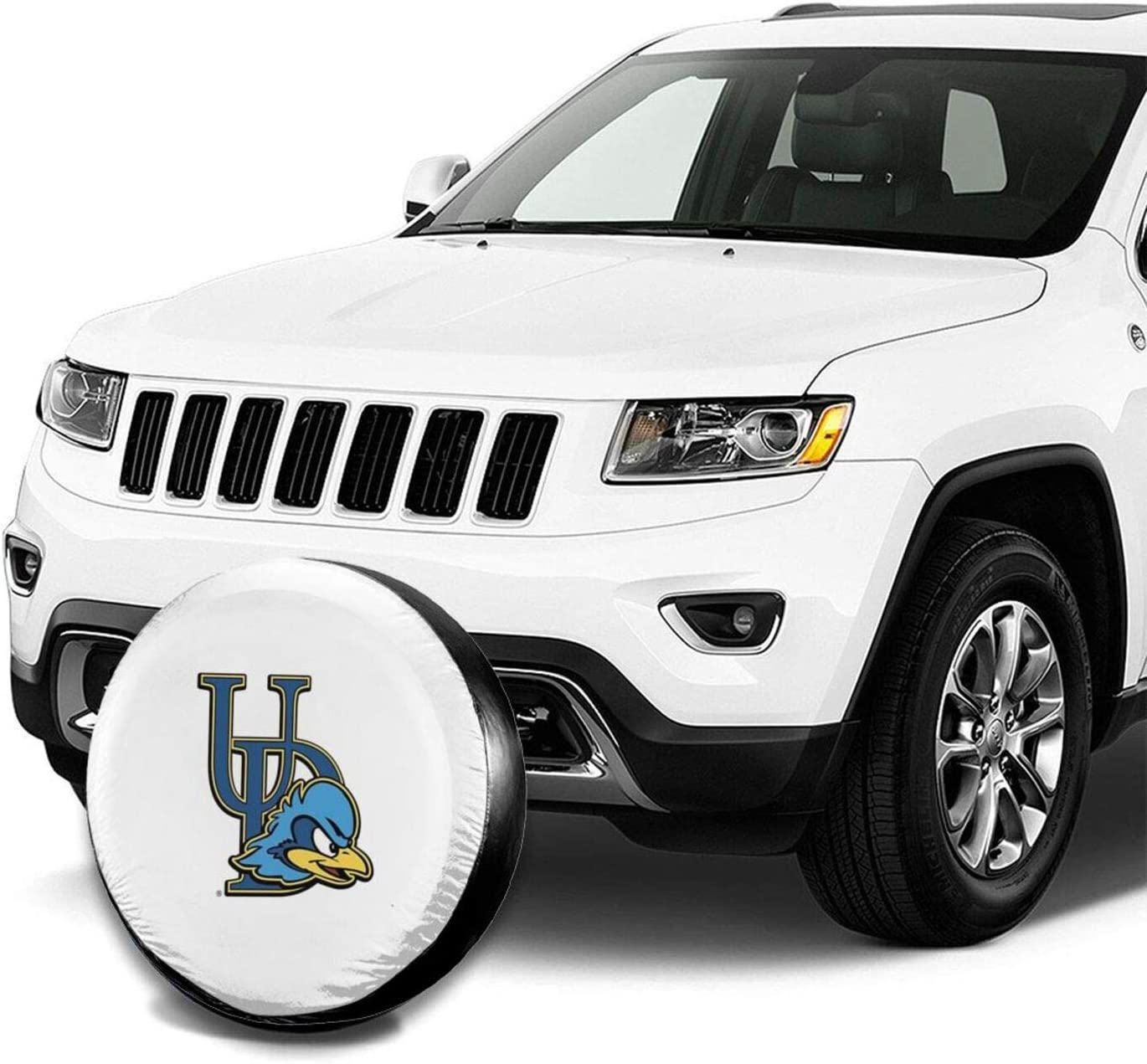Yamike University of Delaware Spare Tire Cover Potable Universal Wheel Covers Powerful Waterproof Tire Cover 14-17 in