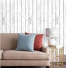 ورق جدران من ألواح خشبية من شيبلاب قابل للإزالة ورق جدران لمشروع اصنعها بنفسك 17.7 بوصة × 199.9 بوصة
