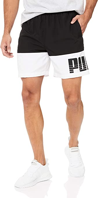 PUMA Men's Rebel Bold Woven Shorts_SH