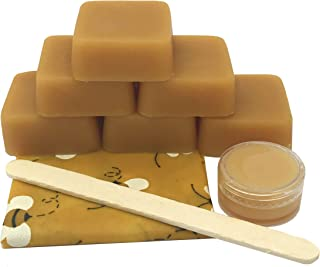 Pine Resin Pinon DIY Beeswax Wrap Formula - Beeswax Food Wraps & 5 ml. Pine Salve - Say Goodby to Plastic. Food Safe Pine Resin, Organic Jojoba Oil & Beeswax Jenny Joy's Soap