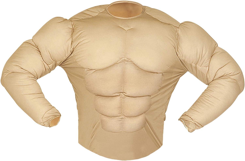 WIDMANN Aptafêtes ? Disfraz de Camisa Monsieur Muscle