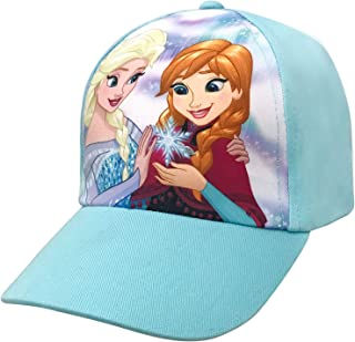 4f5cbb388ca Disney Frozen Girls Anna and Elsa Character Baseball Cap Age 4-7