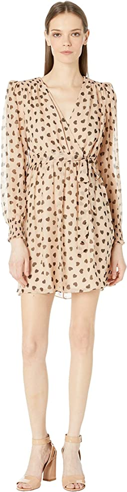 Heart It Heartbeat Silk Mini Dress
