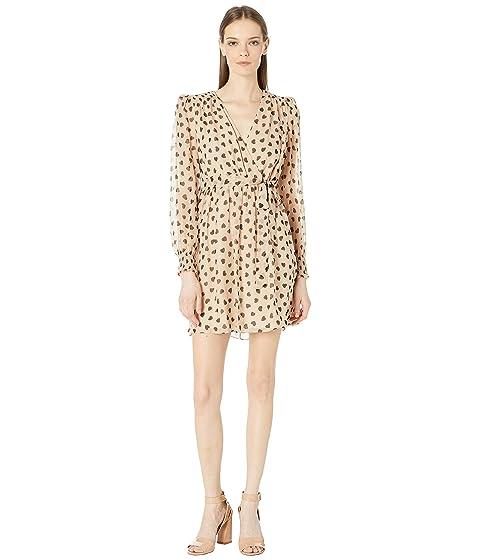 Kate Spade New York Heart It Heartbeat Silk Mini Dress