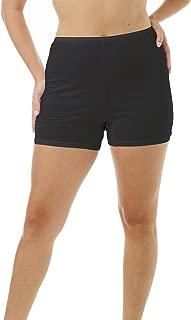 USA Women's 100% Cotton Cuff Leg 5-inch Inseam Bloomers Pettipants 3-Pack