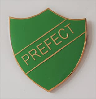 green prefect badge
