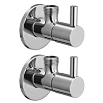 [LD] Drizzle Flora Angle Cock/Angle Valve Stop Cock Brass – Set of 2