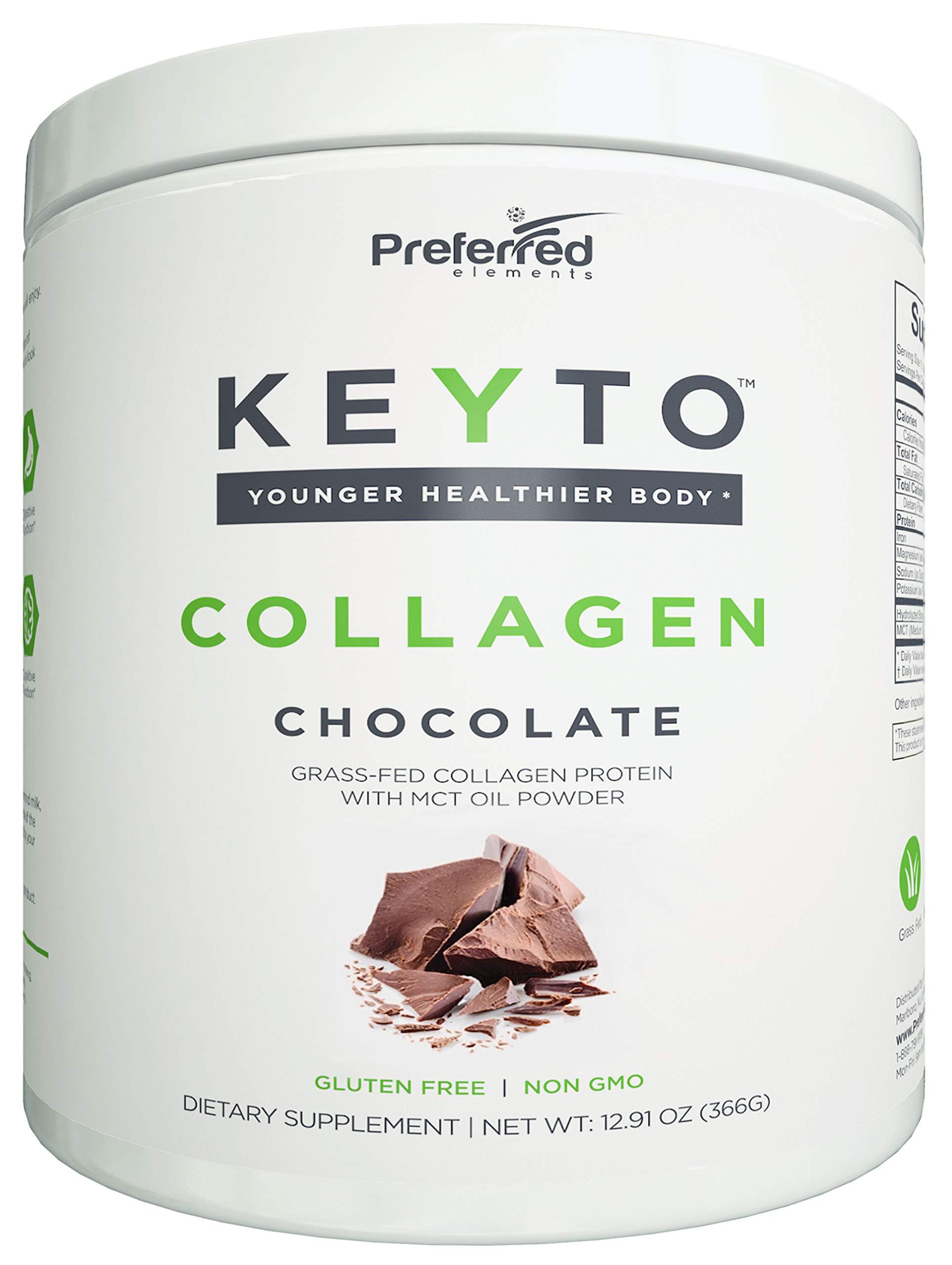 Keto Collagen Protein Powder MCT