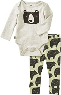 Tea Collection Bodysuit Baby Outfit, Cuddly Cubs, Multiple