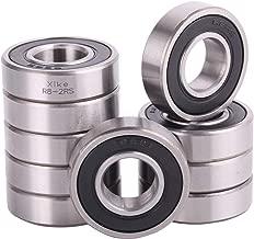 XiKe 10 Pack R8-2RS Bearings 1/2