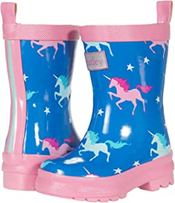 Twinkle Unicorns Shiny Rain Boots (Toddler/Little Kid)