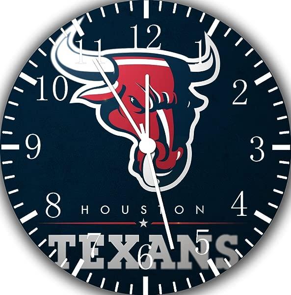 Borderless Texans Frameless Wall Clock E199 Nice For Decor Or Gifts