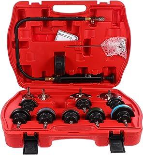 FAVOMOTO Verificador de Pressão Do Radiador Refrigerante Kit De Recarga De Vácuo De Refrigeração Automotiva de Teste de Va...