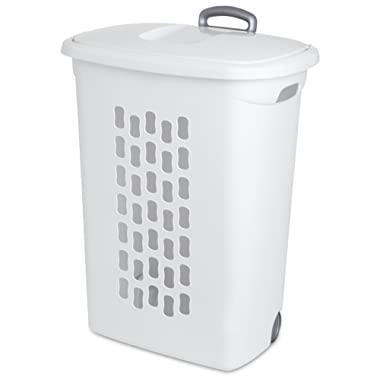 Sterilite 12228003 Oval Laundry Hamper