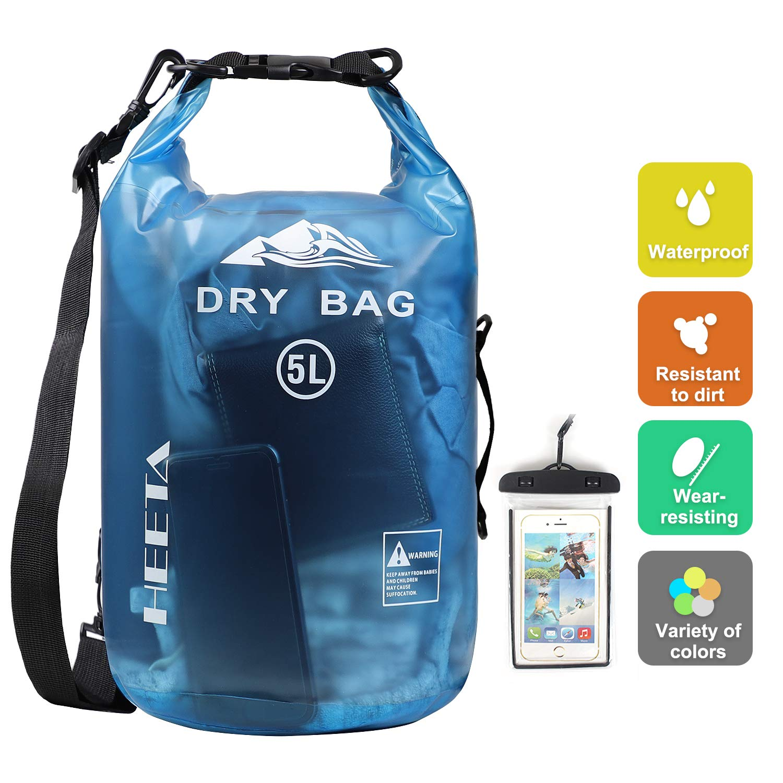 HEETA Waterproof Lightweight Backpack Transparent