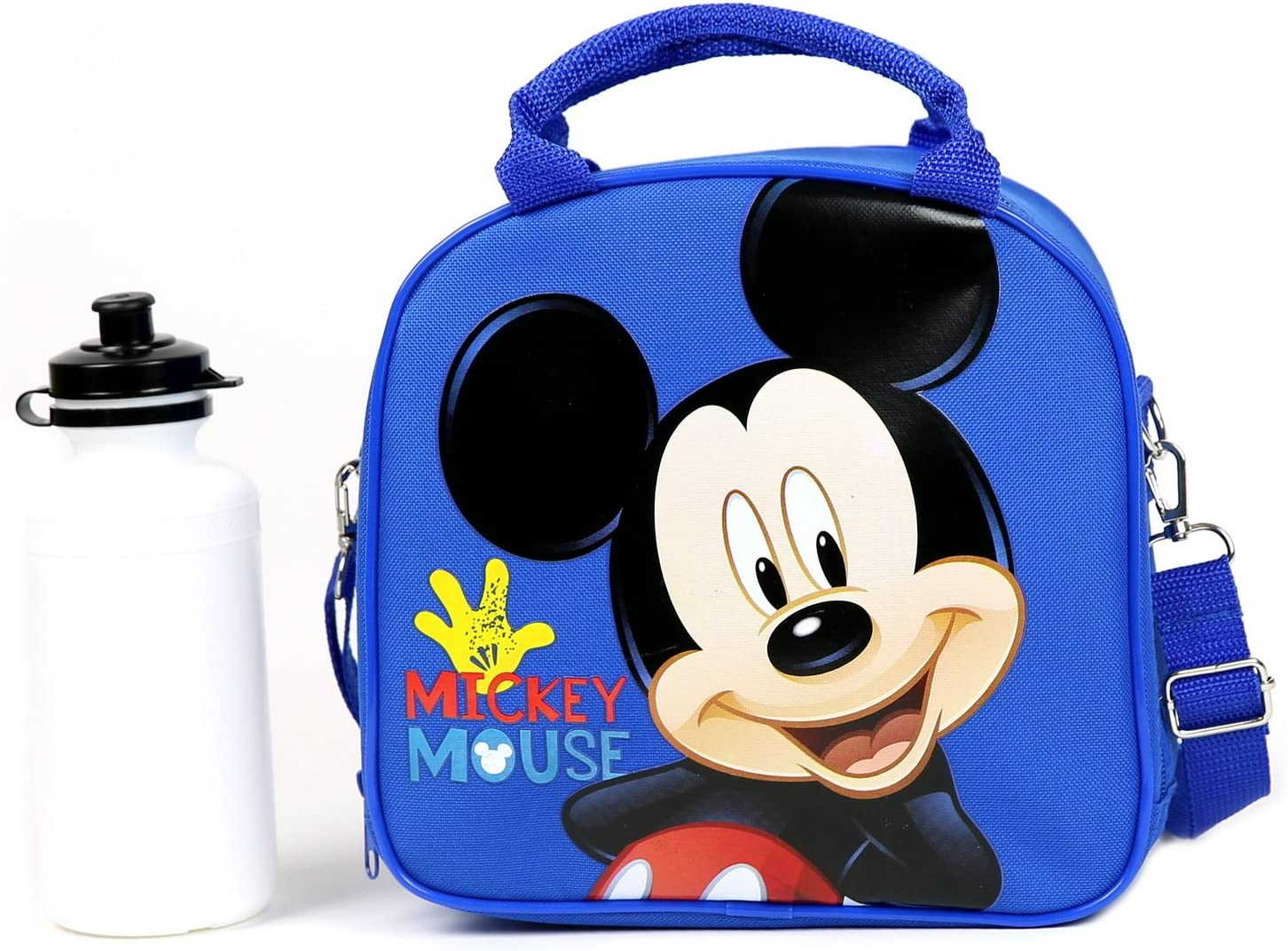 Over item handling ☆ Long-awaited Disney Mickey Mouse Lunch Box Carry and with Bag Shoulder Strap