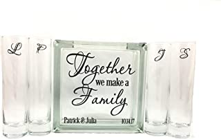 Personalized Blended Family Sand Unity Ceremony Set - Together We Make a Family