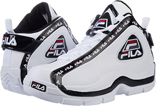 White/Black/Fila Red