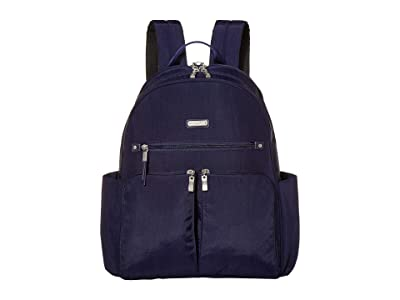 Baggallini Here and There Laptop Backpack (Navy) Backpack Bags