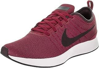Nike Men's Dualtone Racer Noble Red/Port Wine Black Ankle-High Running Shoe - 8.5M